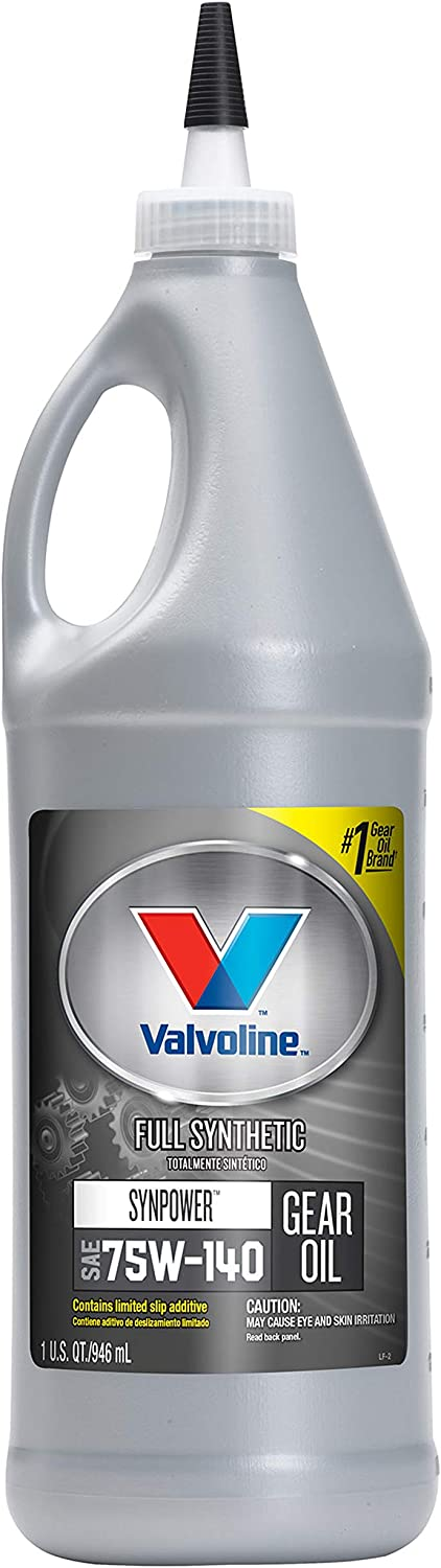 Valvoline SynPower SAE 75W-140 Full Synthetic Gear Oil 1 QT