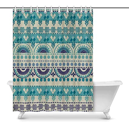 Image Unavailable Not Available For Color INTERESTPRINT African Art Tribal Print Prints Shower Curtain