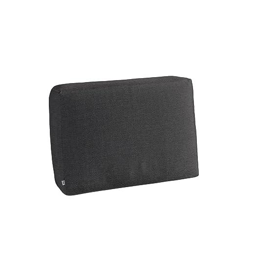 Lado Cojín Combine Negro jaspeado Alto=49 x 21 x 40 cm 1 ...
