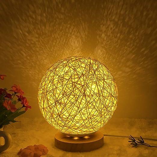 Felices juntos Mesita de Noche romántico proyector de la Noche luz ...