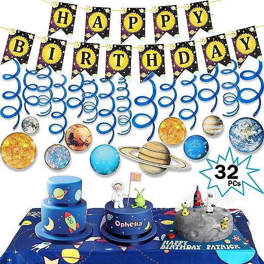 Tacobear 32 Piezas Sistema Solar Fiesta Cumpleaños ...