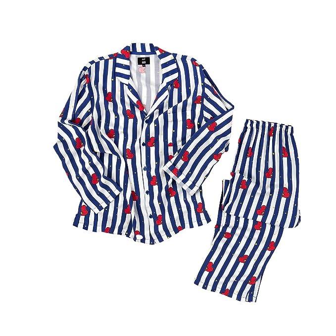 Silver Basic BTS Bangtan Boys Unisex Pyjamas f/ür Damen und Herren JUNG JOOK Jimin V Harajuku Stil Nachtw/äsche Nachthemd
