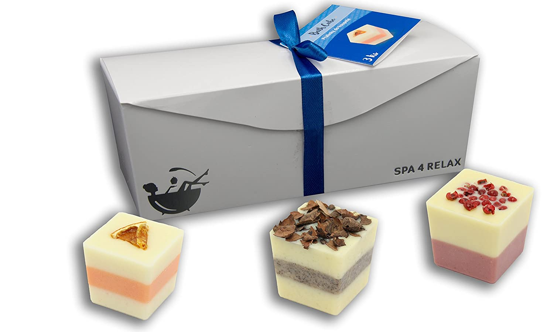 'Spa 4Relax Bade cioccolatini Bath Cube regalo set Velpack s.r.o.