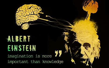 David Lloyd Glover Poster 36in x 24in As Quoted By Einstein By