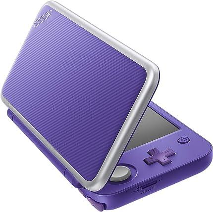 Amazon.com: New Nintendo 2DS XL - Purple + Silver With Mario ...