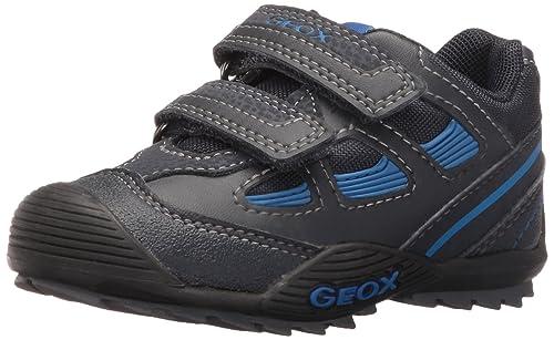 Geox J Savage B Boys LowTop Sneakers Blue Navy