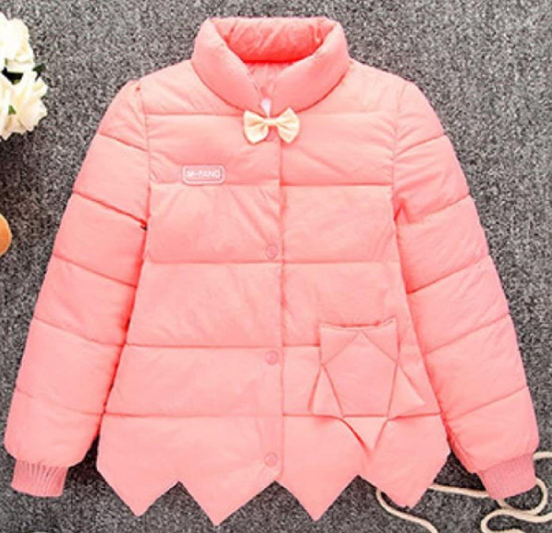 Winwinus Girls Thick Comfy Princess Button Solid Outwear Clothes Jacket