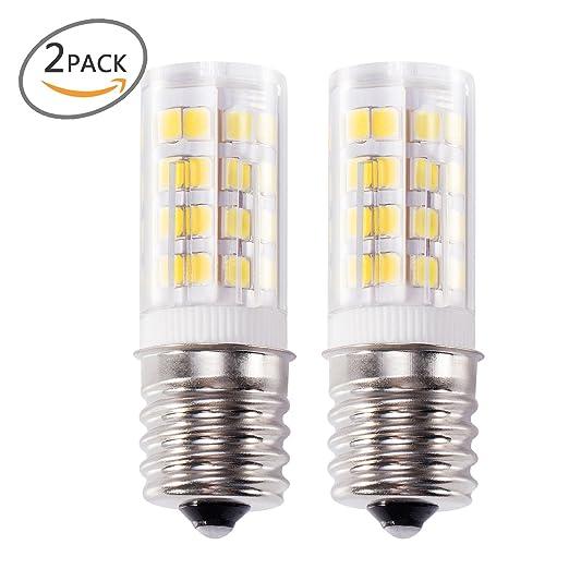 Kohree E17 LED luz de horno de microondas, estufa bombilla luz 4 W luz blanca