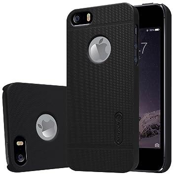 Nillkin Funda iPhone SE 5SE iPhone 5 5S, [Anti-Slip] Frosted Super Slim Matte Hard Cover Case Carcasa de Piel para iPhone 5 5S, Protectores de ...