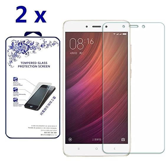 new style 2e4ee 8a750 [2-Pack] Xiaomi Redmi Note 4 Tempered Glass Screen Protector - Nacodex 9H  hardness Tempered Glass Screen Cover ([2-Pack] For Xiaomi Redmi Note 4)