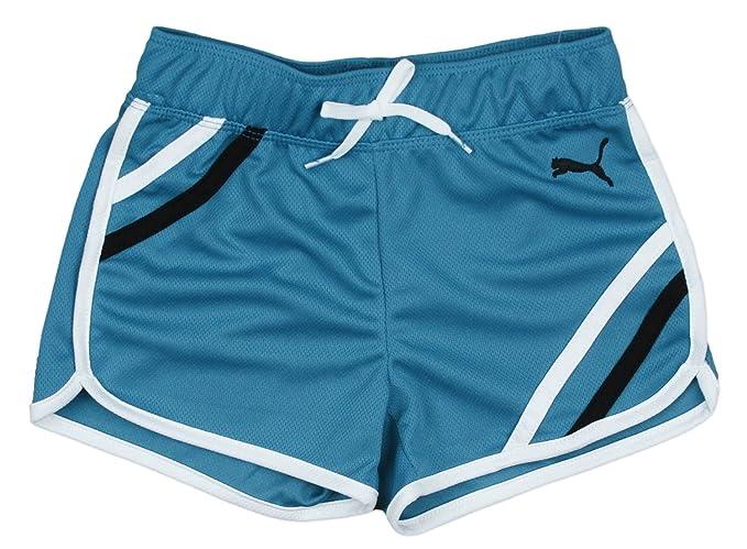 c5ec66852731 Amazon.com  PUMA Little Girls  Mesh Gym Short  Sports   Outdoors