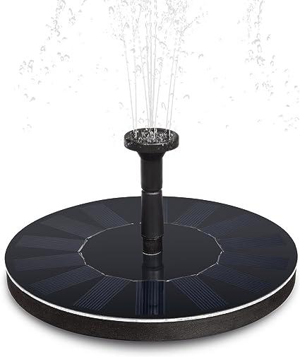 20 W Solaire Pompe Solaire étang pompe plongée pile batterie jardin étang pompe filtre
