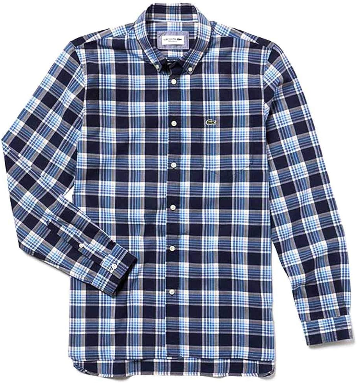 Lacoste Camisa CH5653 Azul Hombre 38 Marino: Amazon.es: Ropa y accesorios
