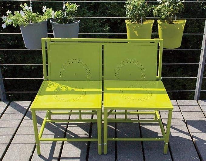 Amazon.com: Esschert Design Convertible bench-to-table doble ...