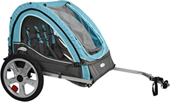 InStep Single & Double Seat Foldable Tow Behind Bike Trailers