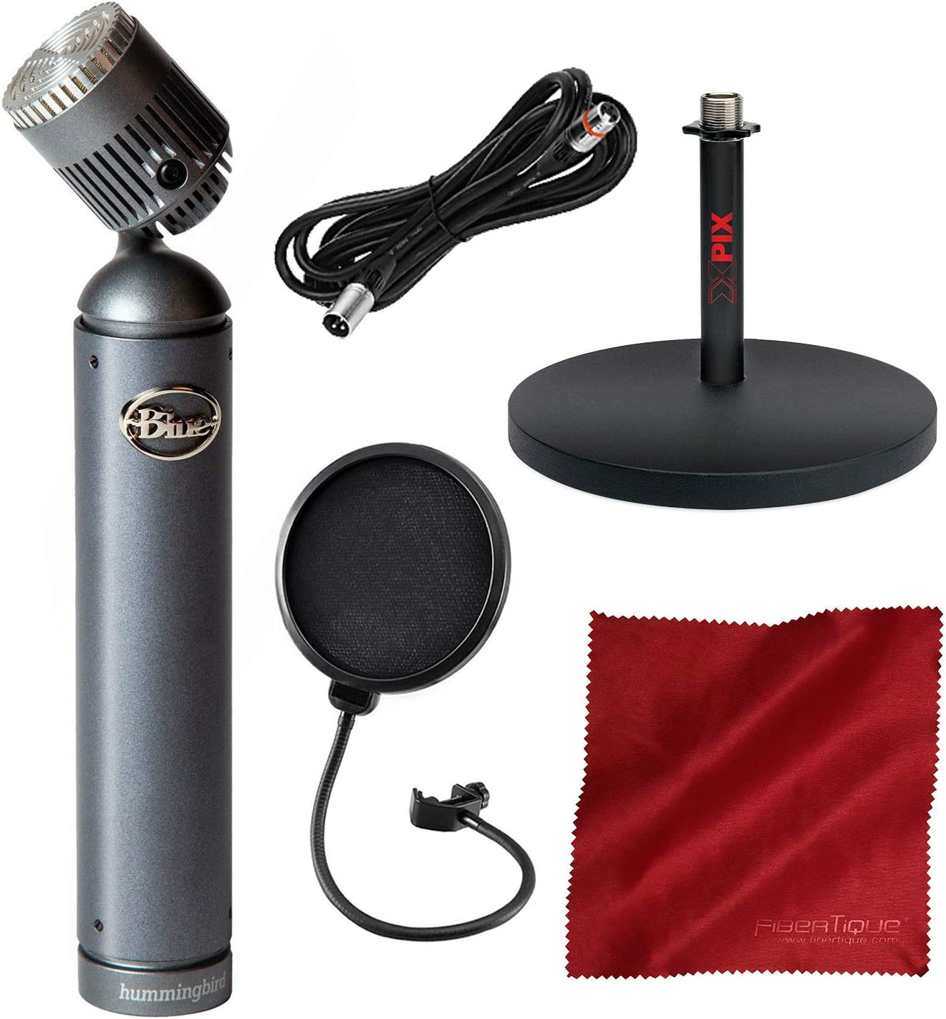 Amazon Com Blue Hummingbird Condenser Microphone With Pivoting