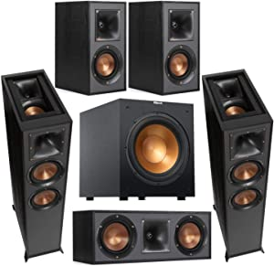Klipsch Reference 2X R-625FA Dolby Atmos Floor Standing Speaker - Bundle with R-12SW 12