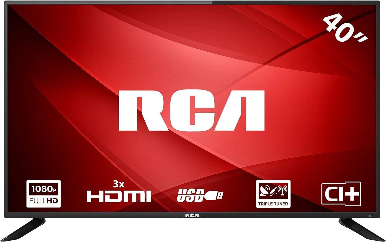 RCA RB40F1 Full HD LED TV (40 Pulgadas, Triple Tuner, HDMI, Ci+ ...