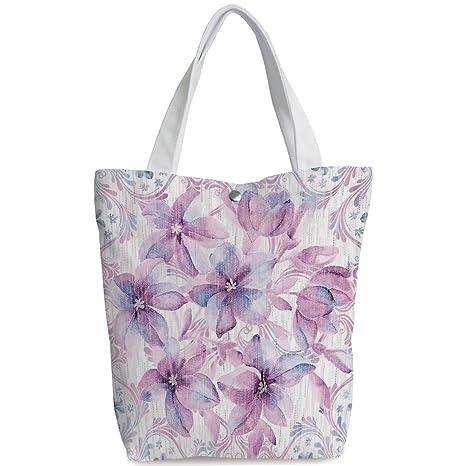 Amazon.com  iPrint Canvas Shopping bag