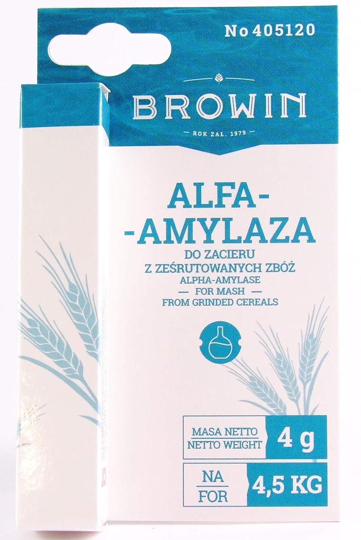Alfa amilasa 4 G - patata Hydrolising enzima Alcohol ...