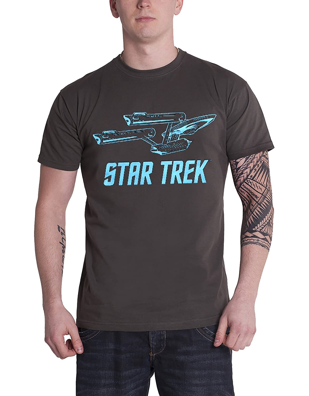 Officially Licensed Merchandise Star Trek / Enterprise Ship T ...