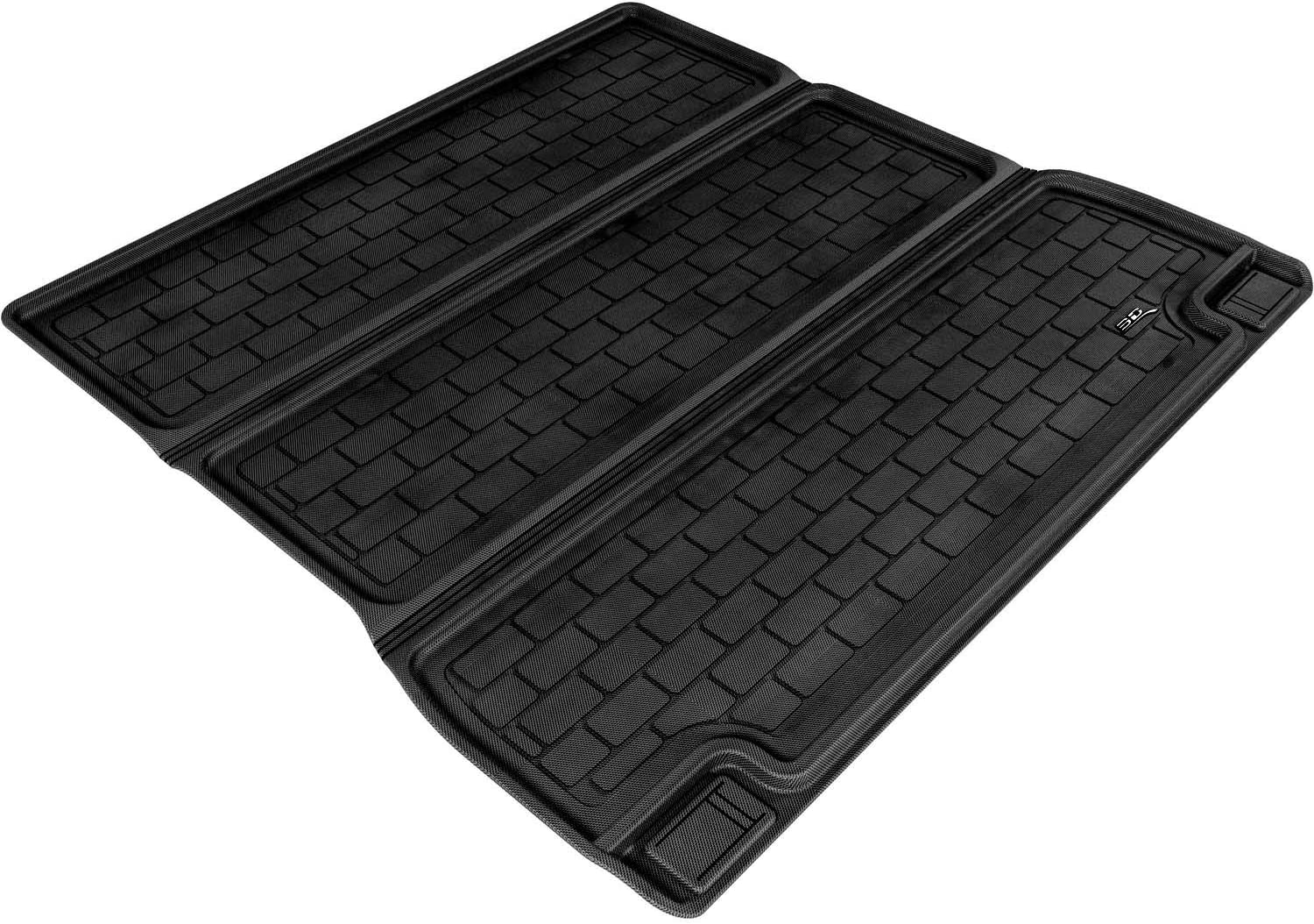 Gray Kagu Rubber 3D MAXpider Complete Set Custom Fit All-Weather Floor Mat for Select Toyota Sequoia Models
