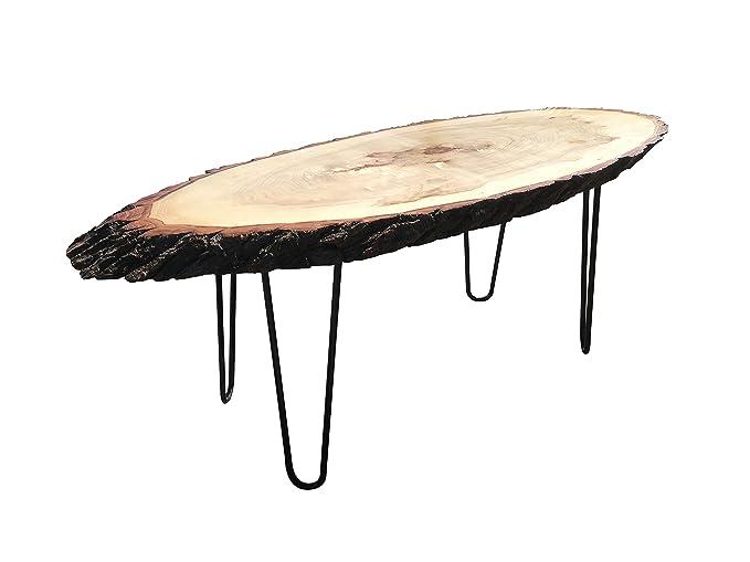 Amazon.com: Vivir Edge Popular mesa de final de madera ...
