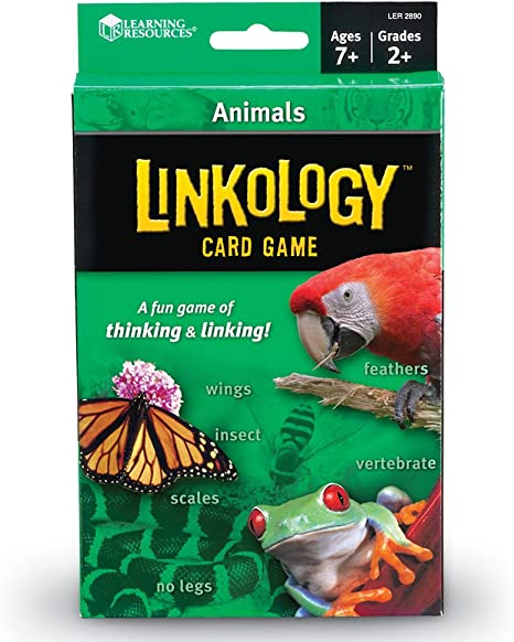 Learning Resources Linkology Animals Card Game: Amazon.ca: Office ...