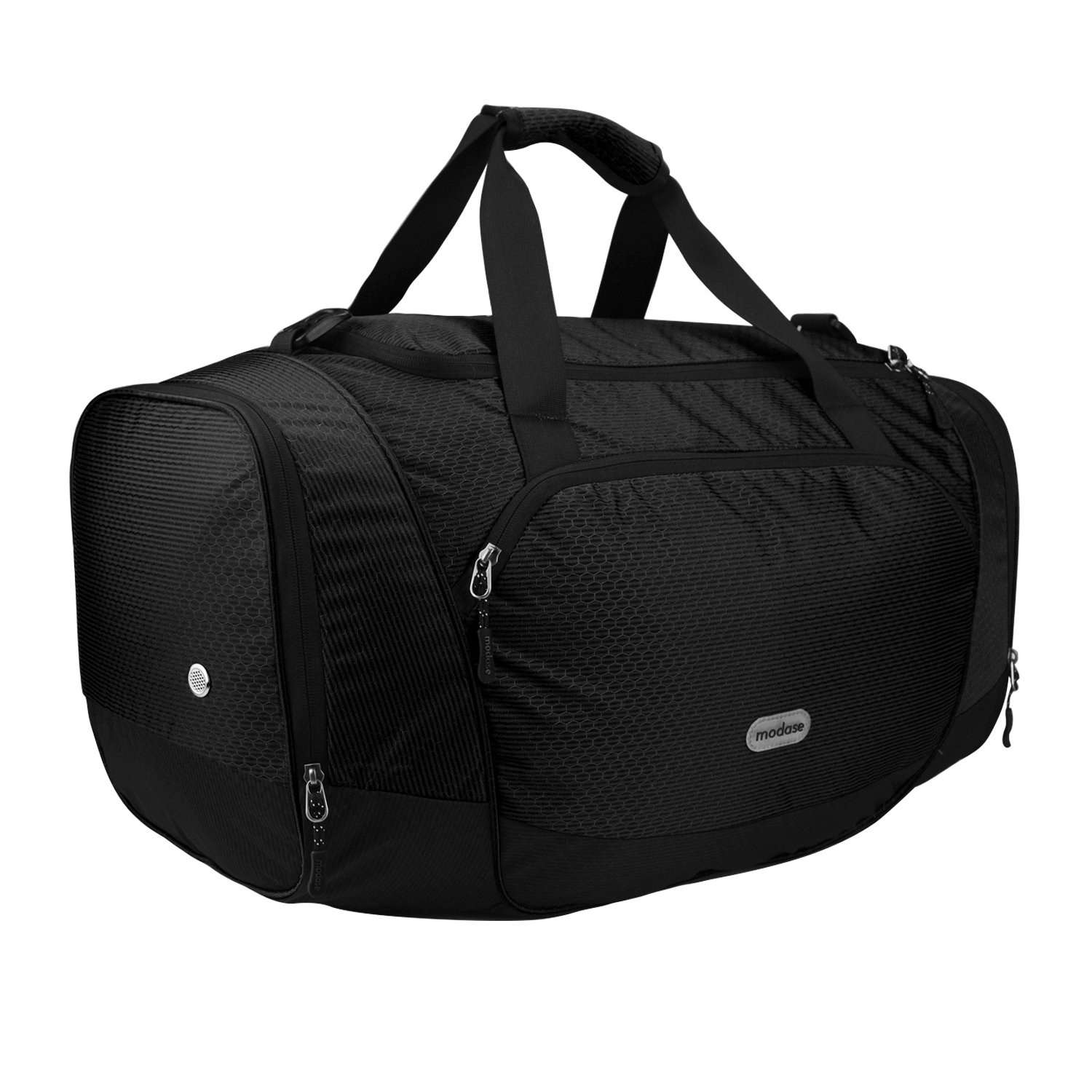 Amazon.com  modase Duffel Bag Gym Bag Travel Duffle Luggage Sport Bag with  Shoe Compartment  Sports   Outdoors e81f8f9bd2954
