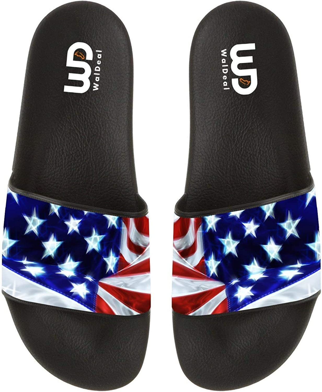 Cartoon Dabbing Unicorn Summer Slide Slippers For Boy Girl Men Women Outdoor Indoor Beach Sandals Shoes