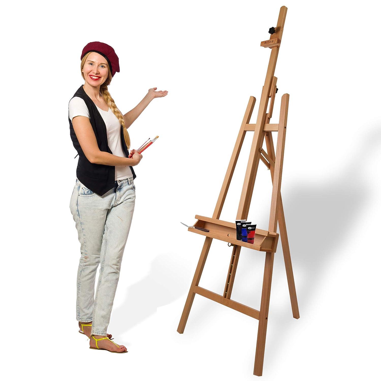 El caballete de pintor más vendido por su relación calidad precio.