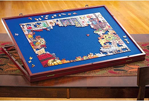 Image result for picture of a puzzle on table