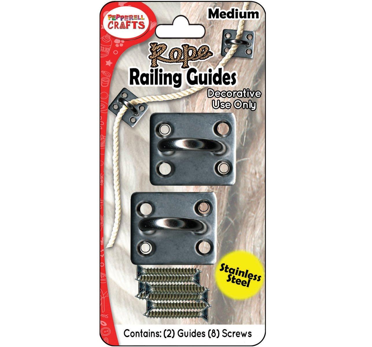 Rope Railing Guides 2/pkg-Medium