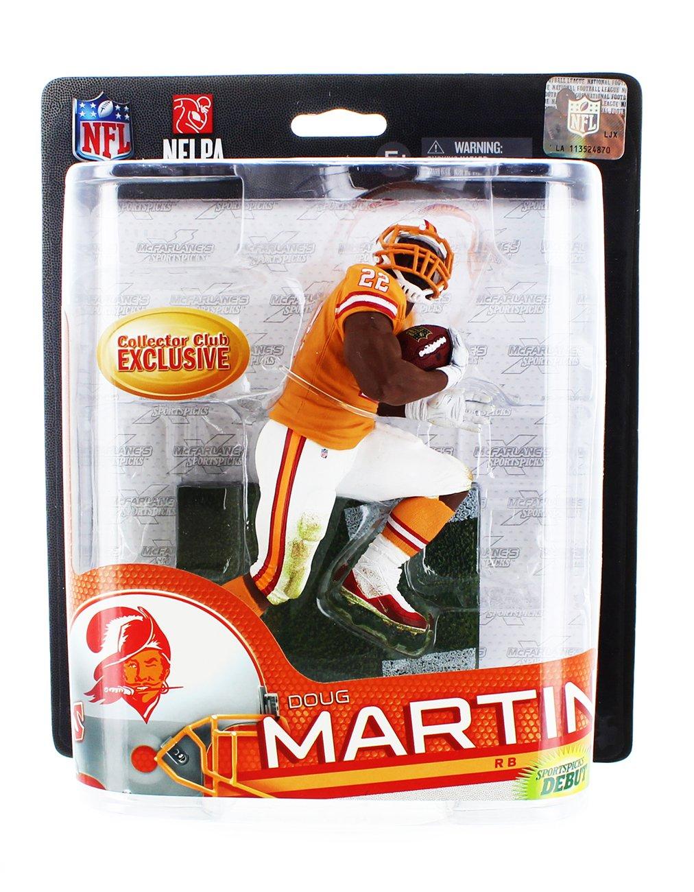 Tampa Bay Buccaneers, Doug Martin McFarlane NFL Series 33 Collectors Club Figure Mcfarlane Toys