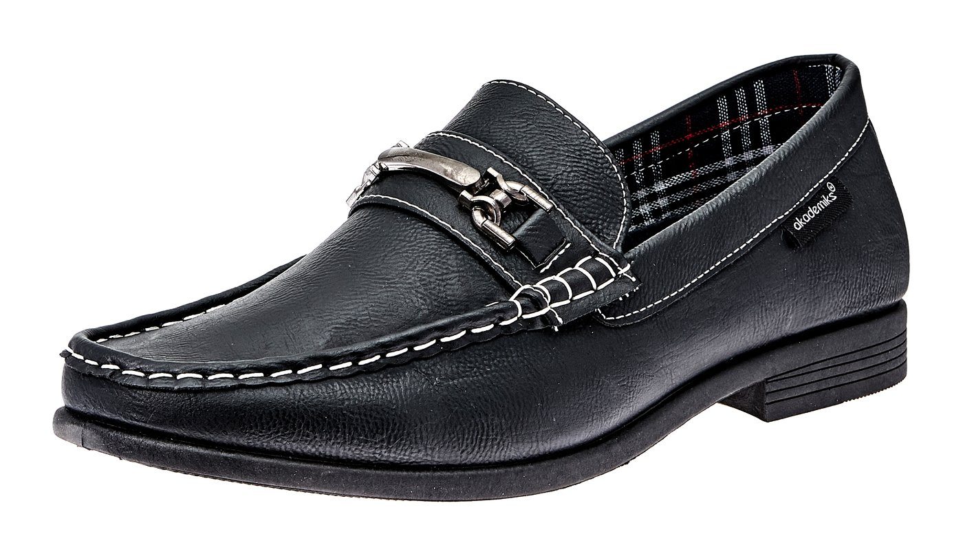 Akademiks Men's Loafers- Fashion Slip On Buckle, Comfort in-Sole