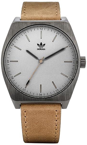 Adidas by Nixon Reloj Analogico para Hombre de Cuarzo con Correa en Cuero Z05-2916-00: Amazon.es: Relojes