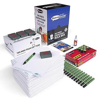 Show-Me B/PLAN de limpieza en seco lápices y gomas de espuma Mini (Pack de 300): Amazon.es: Industria, empresas y ciencia