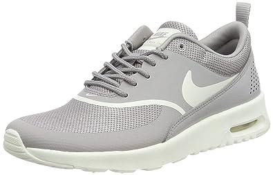 a68234c5f9eef Nike Women's Air Max Thea Low-Top Sneakers, Atmosphere Grey/Sail 034,