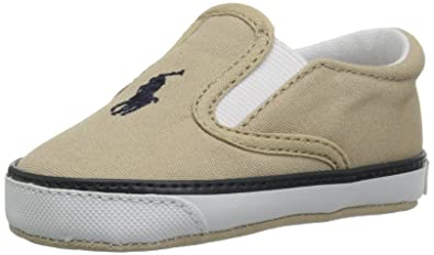 f39b346cfa99 Polo Ralph Lauren Kids Boys  Bal Harbour II Crib Shoe