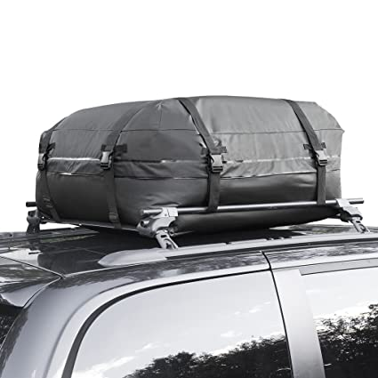 Cargo Roof Bag   100% Waterproof Car Top Carrier U2013 Easy To Install Soft  Rooftop