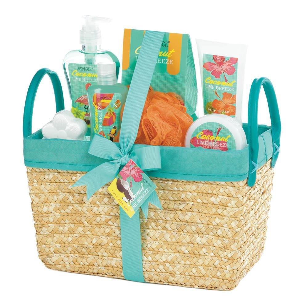 Koehler Coconut Lime Tropical Spa Basket Set