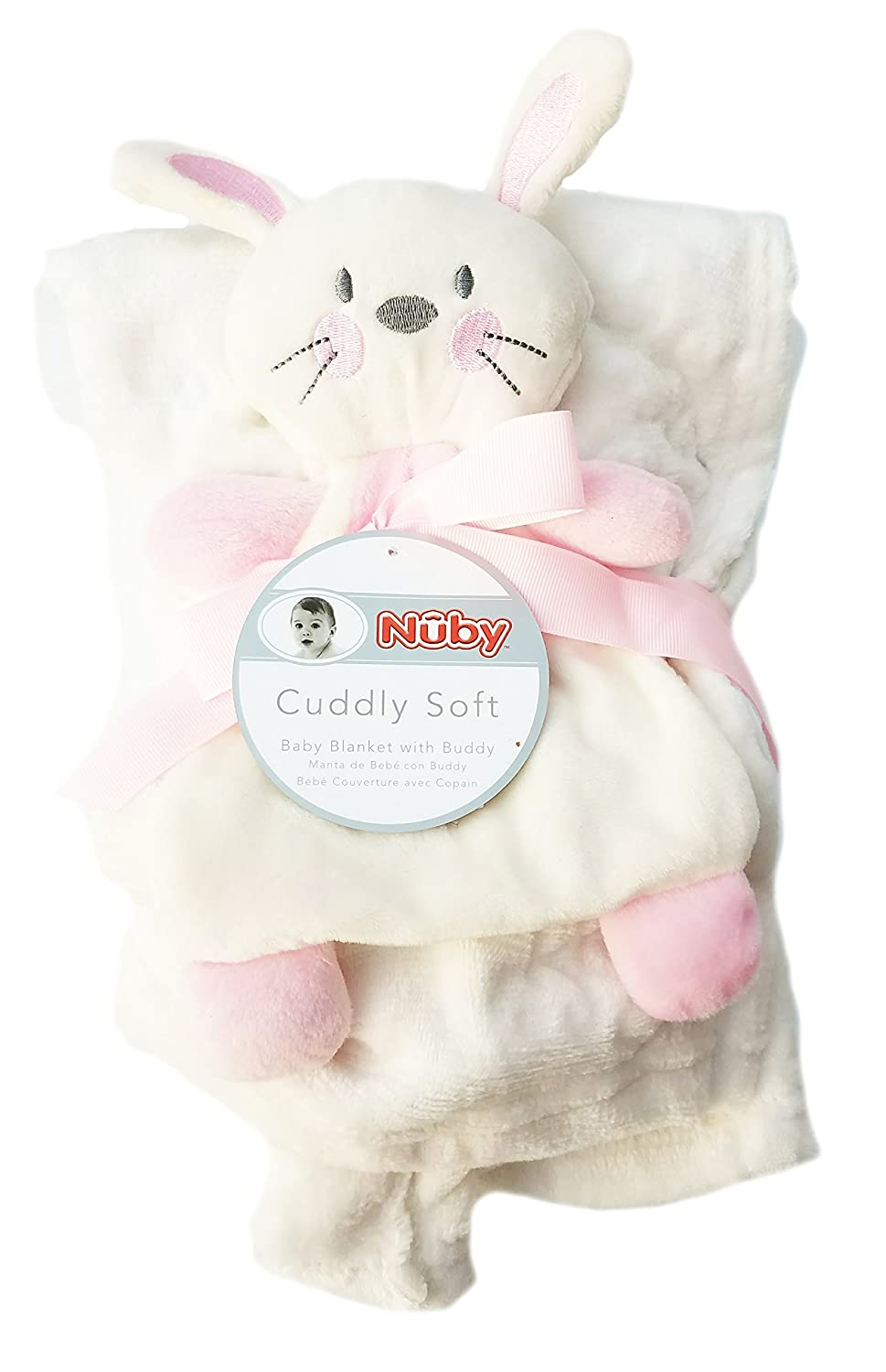 Amazon.com: Cuddly Soft Baby Blanket With Buddy 30