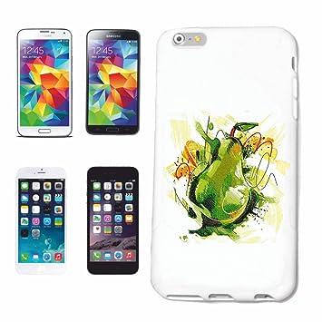 """caja del teléfono iPhone 5C """"Fruta de la pera MIRABELL dieta de calorías PÉRDIDA"""