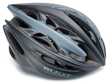 Rudy Project Sterling - Casco de Bicicleta - Azul/Azul petróleo Contorno de la Cabeza