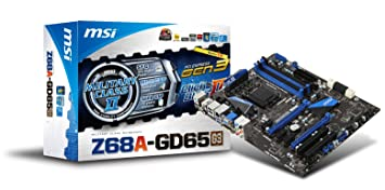 MSI Z68A-GD65 (B3) Super Charger Windows