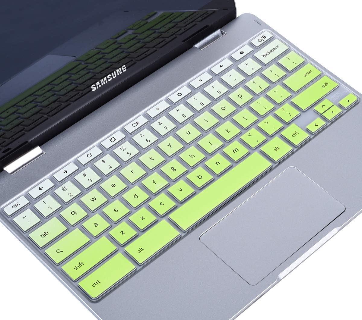 Samsung Chromebook Plus V2 2-in-1 XE520QAB 12.2 Keyboard Protector Gradual Blue Keyboard Cover Skin for 2019//2018 Samsung Chromebook 3 XE500C13 XE501C13 11.6 11.6 Samsung Chromebook 2 XE500C12