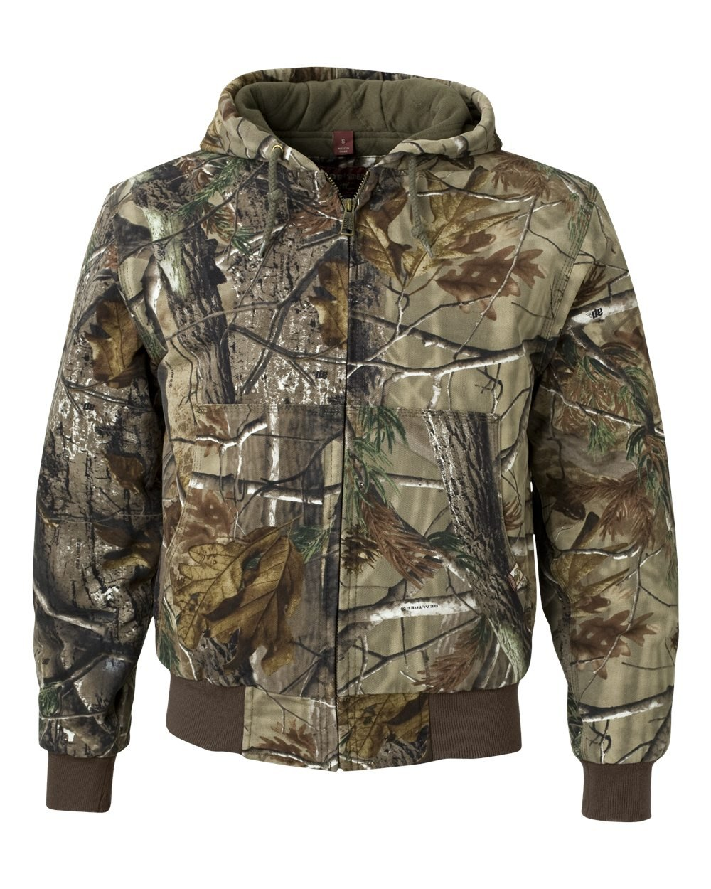 Dri-Duck Men's 5020 Cheyenne Hooded Work Jacket, Realtree Xtra, 5X-Large