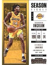 wholesale dealer 0dd50 8c470 2017–18 Dépasse Panini Season Ticket   83 Brandon INGRAM Los Angeles Lakers  Basketball carte