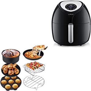 Ultrean Air Fryer Accessories and Ultrean 8.5 Quart Air Fryer