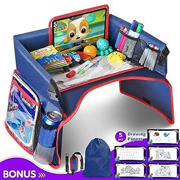 Reise Spiel Tisch TRAVEL TRAY Auto Kindersitz Kinderwagen Autositz Kind Tablett